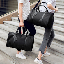 Multifunction Men Business Travel Bags Waterproof Nylon Travel Duffle Male Handbags Large Capacity Overnight Tote Crossbody Bag