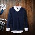 2016 марка свитер Eden park растяжение v-образным вырезом свитер свитер высокого класса марки одежды свитер человек