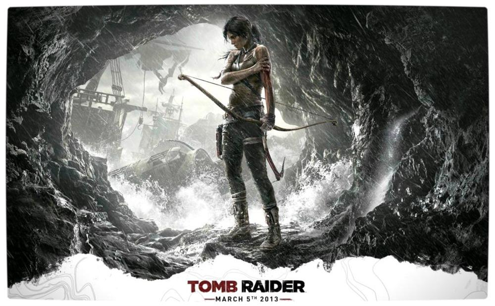 Vamers Tomb Raider 2013 Lara Croft Poster Launch Date 4 Sizes Wall Picture Canvas Poster Print 50x75cm Poster Print