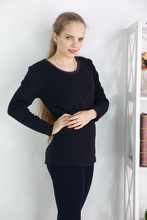 New Winter Style thermal underwear plus velvet thicke at home sets Plus Size 5XL Warm Long Johns suits