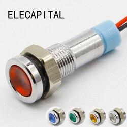 6mm led-anzeige licht 6 V 12 V 24 V 220 V signal lampe