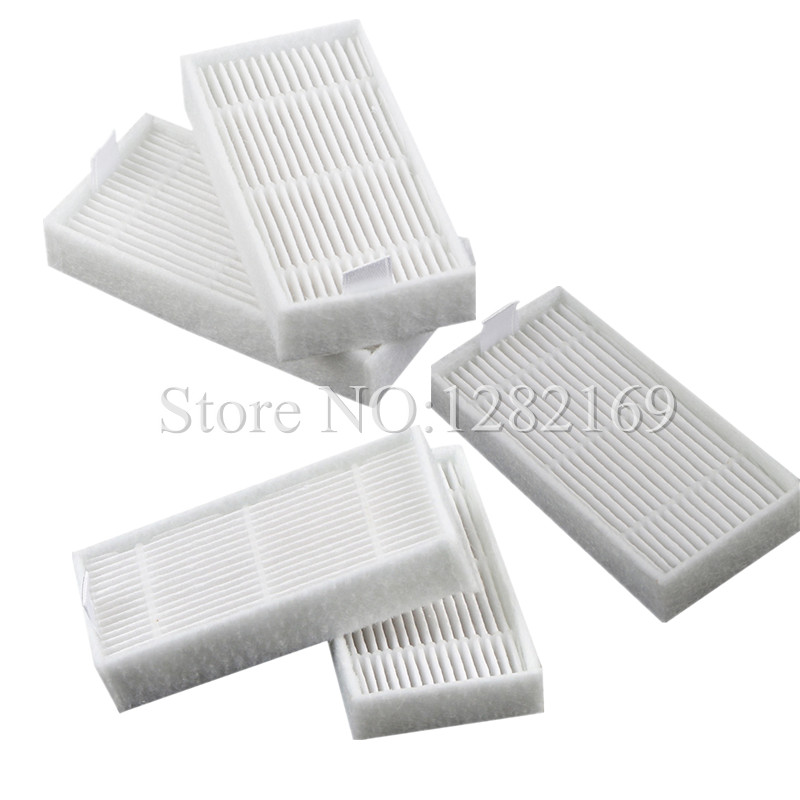 5 pieces/lot Robot Vacuum Cleaner Parts Hepa Filter for Chuwi ilife v5 V5 PRO v3 V3+ Chuwi Robotic