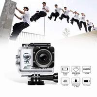 Wifi Спортивная Экшн-камера Ultra HD 4K 30fps 16MP 170D 1080P Mini Cam DVR Водонепроницаемая Go Дайвинг профессиональная камера наружная спортивная видеокамера