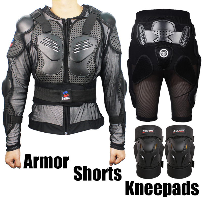 Motorcycle Portective Armor Armour Jacket Racing Protection Shorts Riding Skiing Skating Moto Drop Resistant Knee Pads Jackets herobiker armor removable neck protection guards riding skating motorcycle racing protective gear full body armor protectors