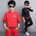 5 6 7 8 9 10 11 12 13 Years Boys Clothes Set Spring Long Sleeve Shirt + Pant 2pcs Sport Suit For Boy Teenagers Conjunto Menino