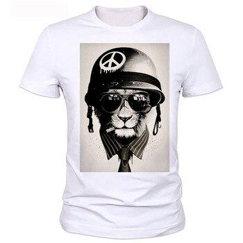 Homme OWL T-shirt mens brand tee shirt 2020 men t-shirt summer style men t-shirt with funny print men's t-shirt  24# 8
