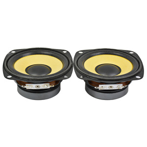 Image 4 - AIYIMA 2 adet 3 Inç tam aralıklı hoparlör 4Ohm 10W Altın Köpük Kenar Siyah Manyetik Multimedya Hoparlör DIY HIFI 78mm ses Hoparlör