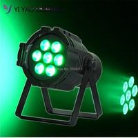 Professional Stage wash 4 In 1 RGBW LED par Light 7x12W DMX 512 8CH DJ Stage Lighting Effect     -