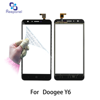 5 5 Inch Sensor 100 Tested For DOOGEE Y6 Touch Screen Panel Digitizer Front Glass Lens