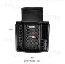Автомобиль организатора центральный подлокотник коробка для хранения, Укладка Уборка для Audi A4 A5 B8 S5 2009-2016 авто аксессуары, тюнинг автомобилей