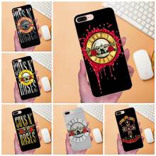 Guns N Roses Cover Para Huawei Estojo Coque P8 P9 P10 P20 P30 Companheiro 7 8 9 10 20 lite Pro Plus 2017(China)
