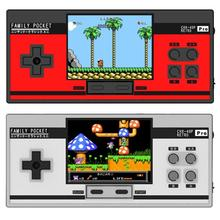 8 Bit Family Pocket PRO Handheld Game Console 3 inch HD Childhood Handheld Game Player Build-in 348 Retro Games Video Console