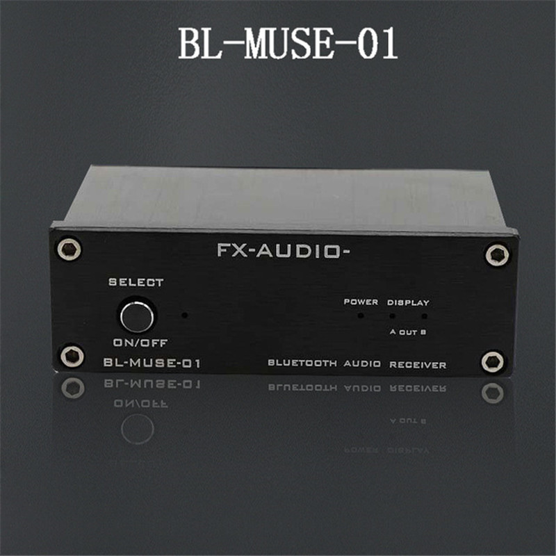 FX-Audio BL-MUSE-01 High-Speed HiFi Bluetooth Audio Receiver Output RCA/Coaxial/Optics For Digital Amplifier CSR-57E6 DC12V/1A adjustable bass treble two divider hifi module game pwm modulation digital amplifier for speaker audio crossover repair parts