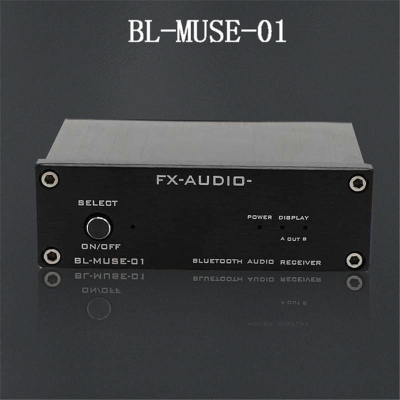 FX-Audio BL-MUSE-01 High-Speed HiFi Bluetooth Audio Receiver Output RCA/Coaxial/Optics For Digital Amplifier CSR-57E6 DC12V/1A