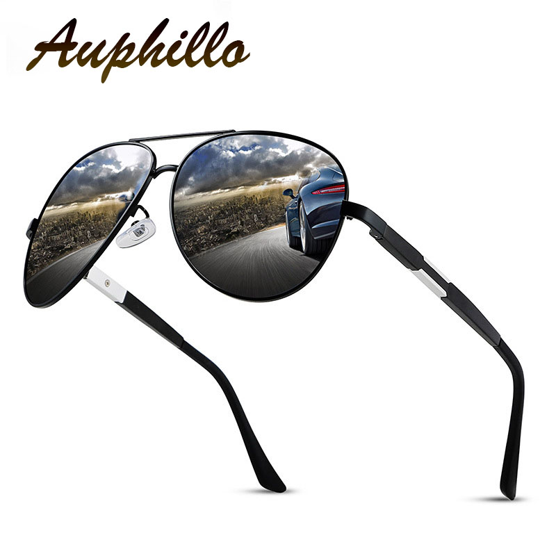 Classic Retro Pilot Sunglasses Men Luxury Brand Aluminum Magnesium Polarized Driving Glasses Eyewear Accessories