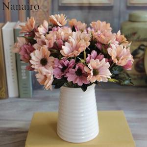 Top 10 most popular rose flowers mini 1 pcs brands nanairo 1pcs10 silk flower decoration daisy flowers mightylinksfo