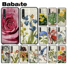 Babaite Book Art print of Flowering Cactus Soft Phone Cover for Huawei Mate10 Lite P20 Pro P9 P10 Plus Mate9 10 Honor 10 View 10(China)