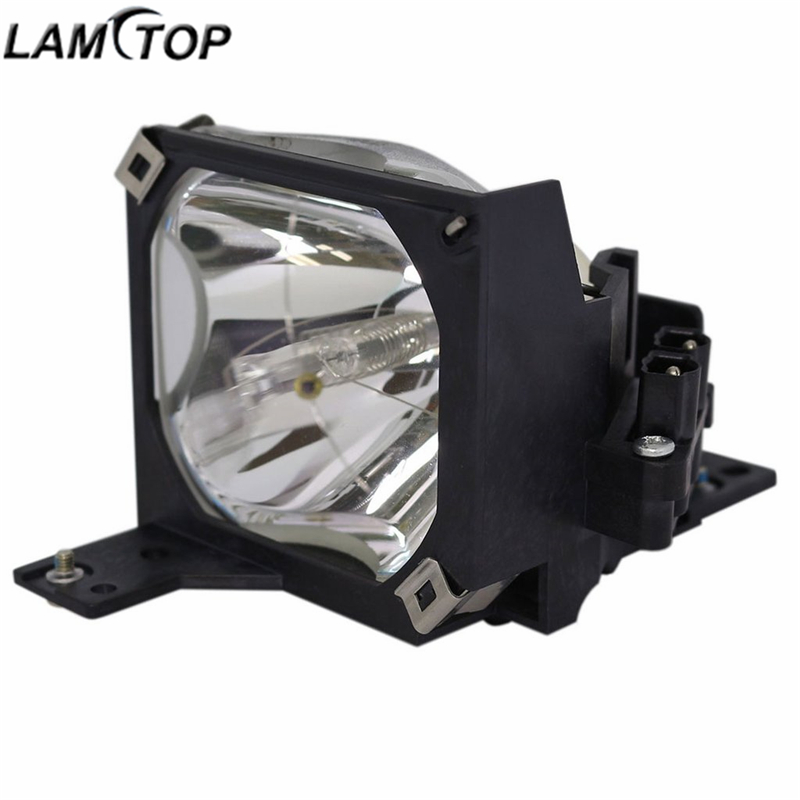 LAMTOP projector lamp bulbs with housing cage ELPLP16/ V13H010L16 FOR EMP-51/EMP-71 compatible projector lamp projector bulb with housing elplp16 v13h010l16 fit for emp 51