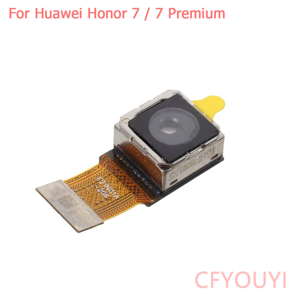 20MP Original For Huawei Honor 7 Back Camera Rear Big Camera Module Flex Replacement For Honor 7 Premium