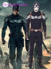 Avengers Endgame Steve Rogers Costume Cosplay Captain America 2 Superhero Suit Clothing Adult Halloween Carnival Men