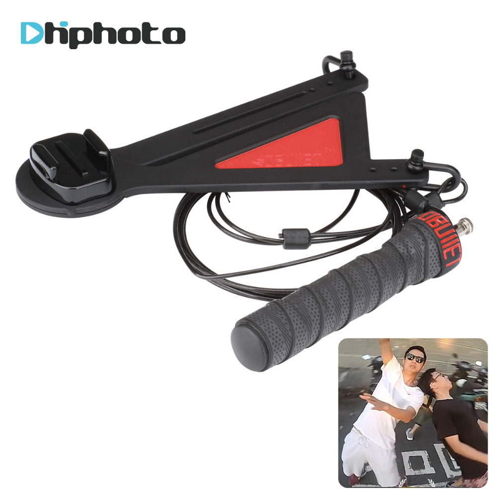 CentriGopro Centriphone Kugel Zeit Wirkung Kamera Rig Selfie 360 Grad für Gopro Hero 6 5 4 EKEN YI Sjam Sport action Kamera