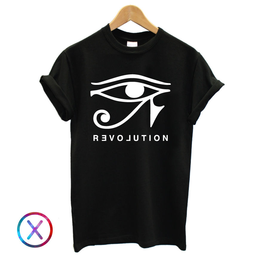 Egyptian Eye Graphic T Shirt Tee Top Love Grunge Symbol Mens Blog Fashion 2019 New Cotton Men T-Shirt Clothing Best T Shirts image