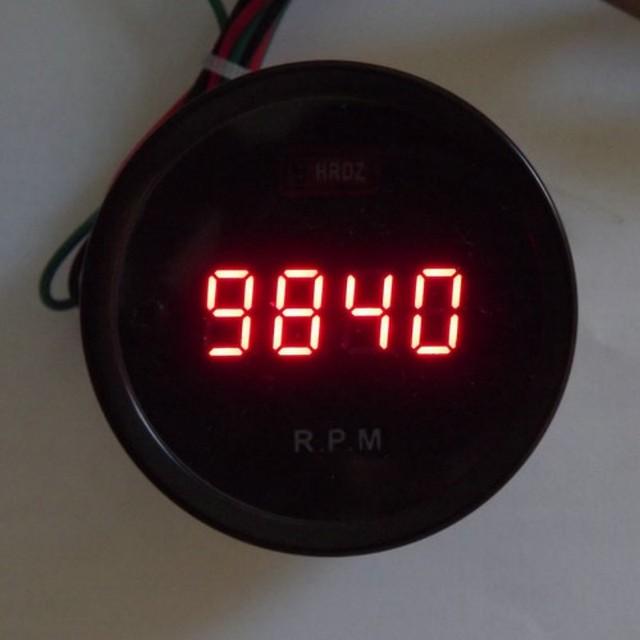 car digital tachometer car rpm instrument modified very cool 4 colors for motor car