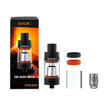 Smok Vape TFV8 Baby Atomizer Adjust Airflow Beast Tank Top-filling 3ML with Baby Q2 and Baby X4 Core Vaporizer TFV8 Baby Tank