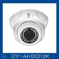 AHD Camera 1 0MP Metal Dome Cameras 24pcs Leds Camera Waterproof Night Vision IR Cut Filter