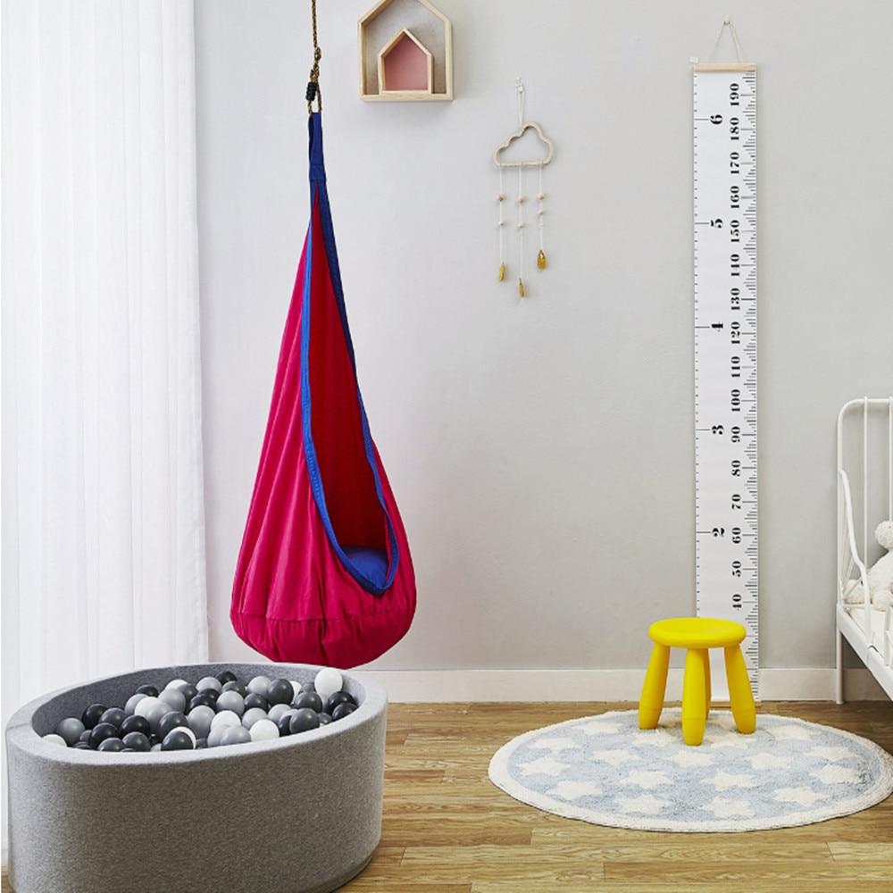 Chaise balancelle intérieur extérieur balancelle chaise hamac suspendu jardin hamak amaca camping hamac bébé hangmat