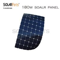 Boguang 180W Semi Flexible Contact Solar Panel With High Efficiency Solar Cell The Solar Module Charging
