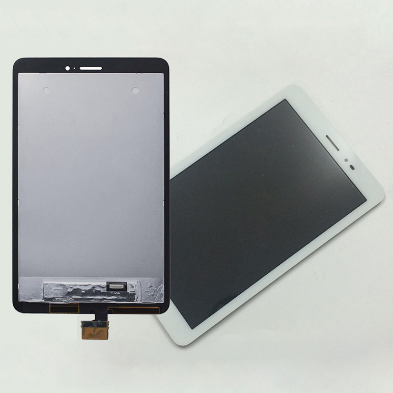 White For Huawei Mediapad T1 8.0 3G S8-701u / Honor Pad T1 S8-701 Touch Screen Digitizer + LCD Display Panel Monitor Assembly 8 inch replacement parts for huawei mediapad t1 8 0 s8 701 lcd display touch screen digitizer sensor full assembly tablet pc