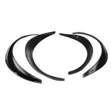 4PCS  Flexible Black Polyurethane Car Automobile Exterior Fender Flares Stocking