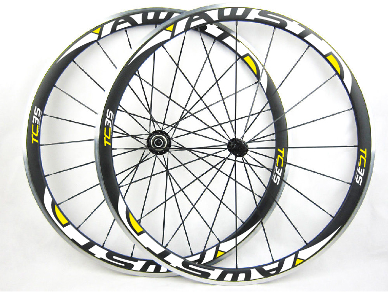 38mm clincher bicycle carbon alloy wheels Powerway R13 hub 700c road alloy bike wheels ultra light wheelset carbon wheels 700c 25mm width 38mm clincher racing bicycle wheels road bike carbon wheelset clincher with powerway r51 hub