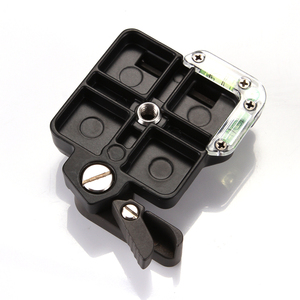Image 2 - QR Quick Release Clamp Adapter Plate Mount for Monopod Tripod Ball Head Arca Benro