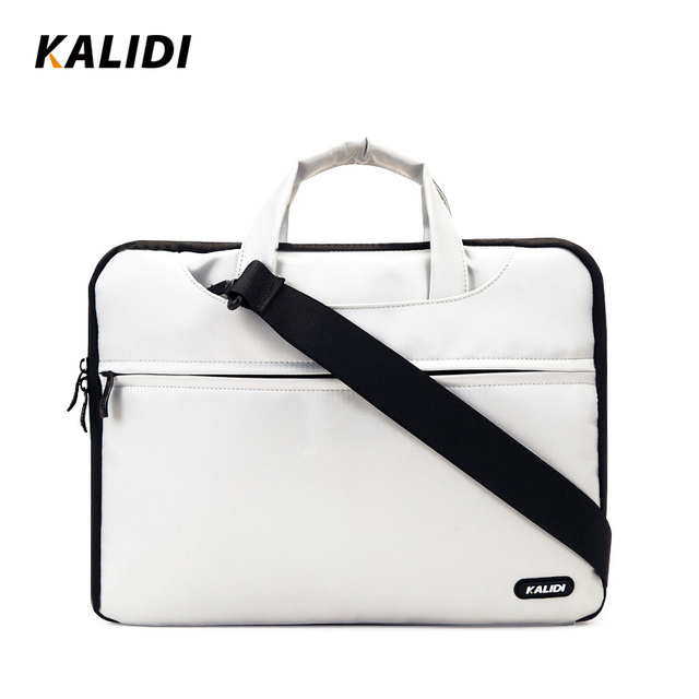 KALIDI 10 11 12 13 14 15 Inch Laptop Shoulder Bag Mens Computer Notebook Handbag Sleeve  Protective Case Pouch Cover for Macbook