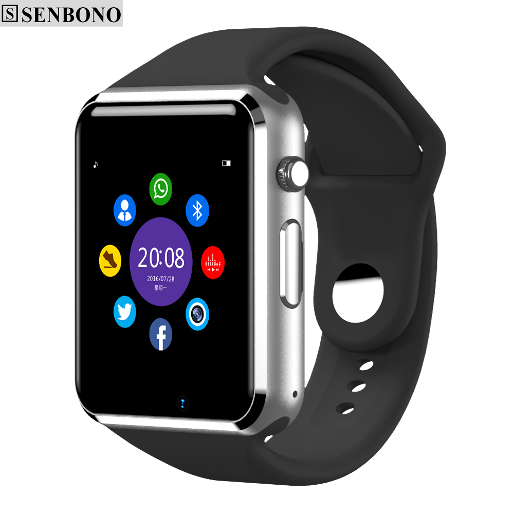 imágenes para Envío gratis Reloj de Pulsera Bluetooth Reloj Inteligente Podómetro Deporte Con SIM Cámara Smartwatch Para Android Smartphone de Rusia T50
