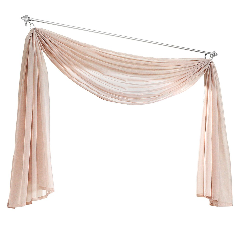 Hot Multicolor European Valance Scarf Curtain Custom Made Curtains For Living