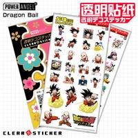 7sets/pack Anime Dragon Ball Cartoon Stickers Super Saiyan Goku Stickers Decal For Snowboard Luggage Car Fridge Laptop Moto DIY