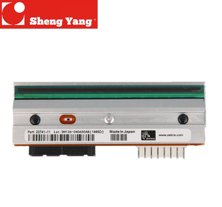 A cabeça de impressão da zebra 105SL original ponto p1053360-019 MAIS 300 dpi impressora de etiquetas etiqueta térmica cabeça de impressão