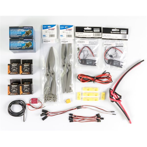 Power Combo for MyTwinDream 1800mm FPV Plane for your easy build including the motors ESCs Propellers