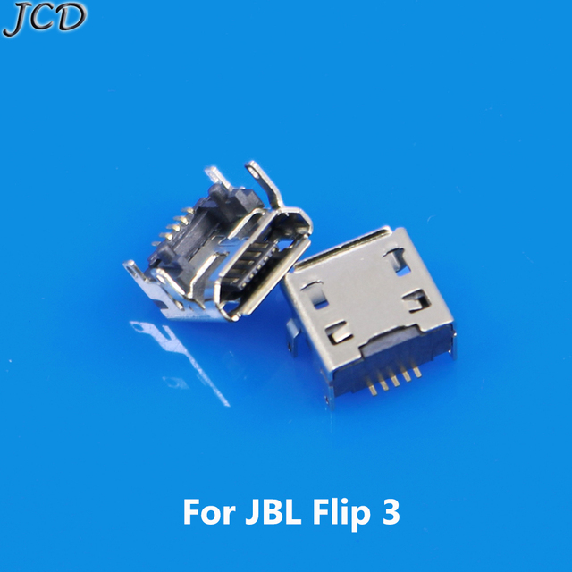 US $27 32 13% OFF|JCD Micro MINI USB jack socket connector replacement  repair parts Charging Port Charger for JBL Charge FLIP 3 Bluetooth  Speaker-in