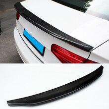 Xe ô tô-một Phong Cách sợi Carbon Trung Kế Xẻ Tà Phù Hợp Cho Xe Audi A4L B9