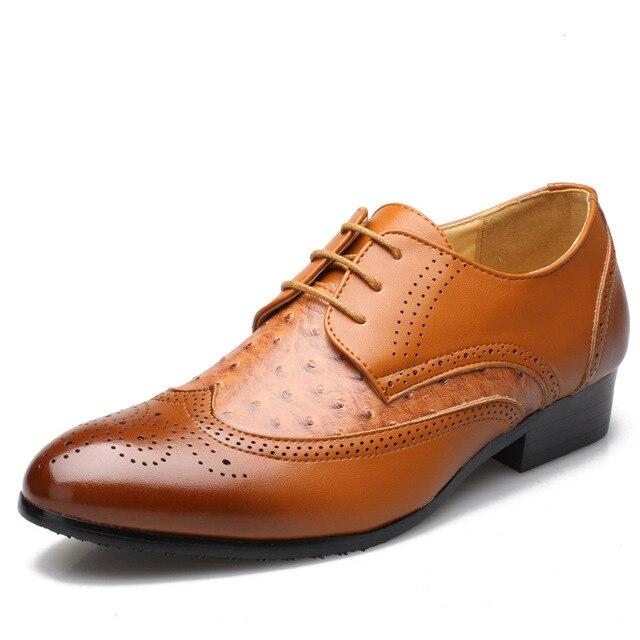 Zapatos marrones para hombre d7Vlv