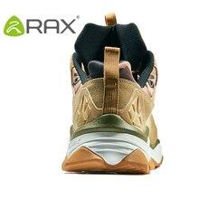 RAX Men's Waterproof Hiking Shoes Women Climbing Backpacking Trekking Boots Men Outdoor Shoes Anti-slip Mountain Sneakers Men