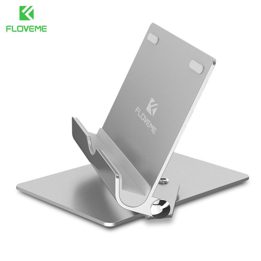 FLOVEME Universel 360 Degrés de Rotation Support de Téléphone Mobile Pour iPhone 8X2 en 1 Support de Bureau Support de Téléphone Pour iPad Samsung Xiaomi