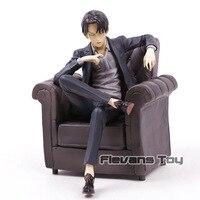 Attack on Titan Levi Ackerman Sitting Sofa Ver. PVC Figure Collectible Model Toy