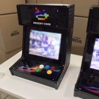 12 LCD Screen 1388 Games Pandora 6S Bartop with Coin Acceptor Arcade Machine Cabinet 4: 3 Perfect Ratio Arcade Console