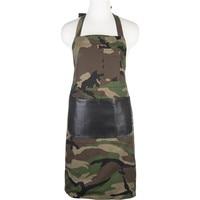 Neoviva Cotton Kitchen Apron Women Kitchen Fashion Camouflage Aprons For Cooking Restaurant Waiter Uniform Girl Aprons