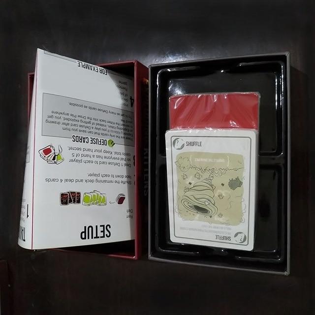 Jeux de société exploser cartes jeu pour chaton Edition originale NSFW Edition chat rouge chat noir famille partie jeux de stratégie